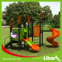 Liben Hot Selling Plastic Outdoor Playground with Ex-works Price LE.QI.013